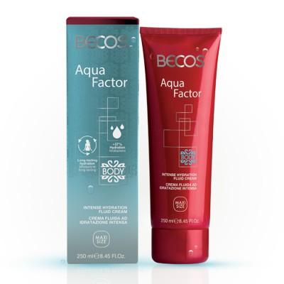 Aqua Factor Intense Moisturizing Fluid Body Cream