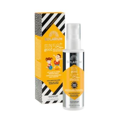 Solarium Sun Good Solar Milk Sensitive Skins Protection Family Spf50+