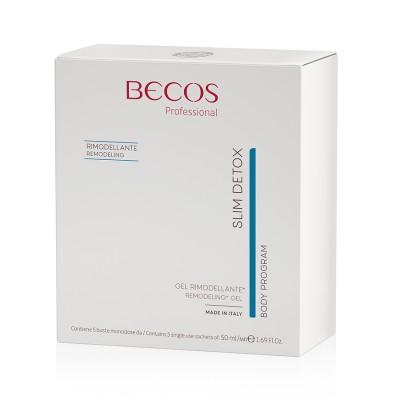 Slim Detox Professional Remodeling Gel 5 Single-dose Sachets 50ml