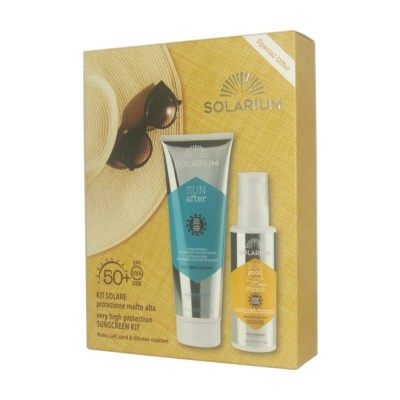 Kit Solare Very High Protection Solar Milk Spf50+ After Sensitive Skins