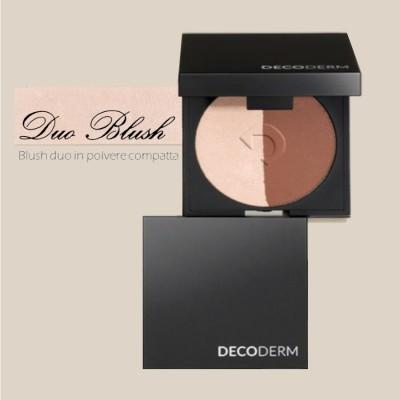 Decoderm Duo Compact Powder Blush Col.01
