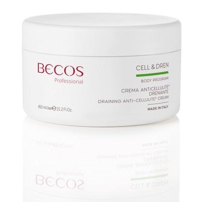 Cell & Dren Professional Draining Anti-cellulite Cream 450 Ml