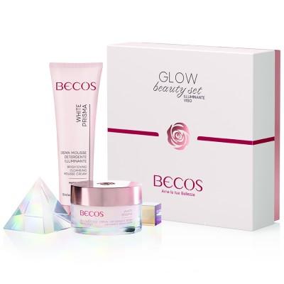 White Prisma Glow Beauty Set Face Illuminator