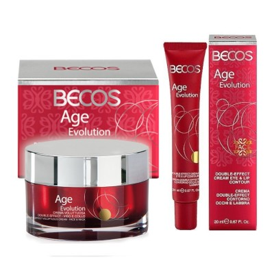 Age Evolution-voluptuous Face & Voluptuous Neck Cream & Wrinkle-free Eyes-lab Cream