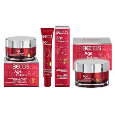 Age Evolution- Voluptuous Creams +extra Face-neck & Eyes-lips Anti-wrinkle Creams