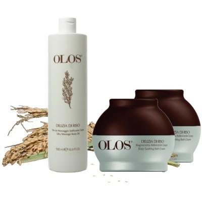 Delizia Di Riso- Body Oil Max Silky & Bath Cream (2)