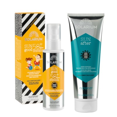 Solarium Milk Spf50 + After-sun Protection Face-body Skins With Intolerances
